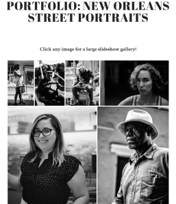 New Orleans Street Portraits